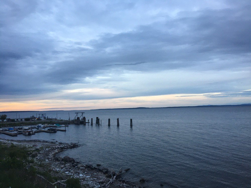 Views of Port Kent.