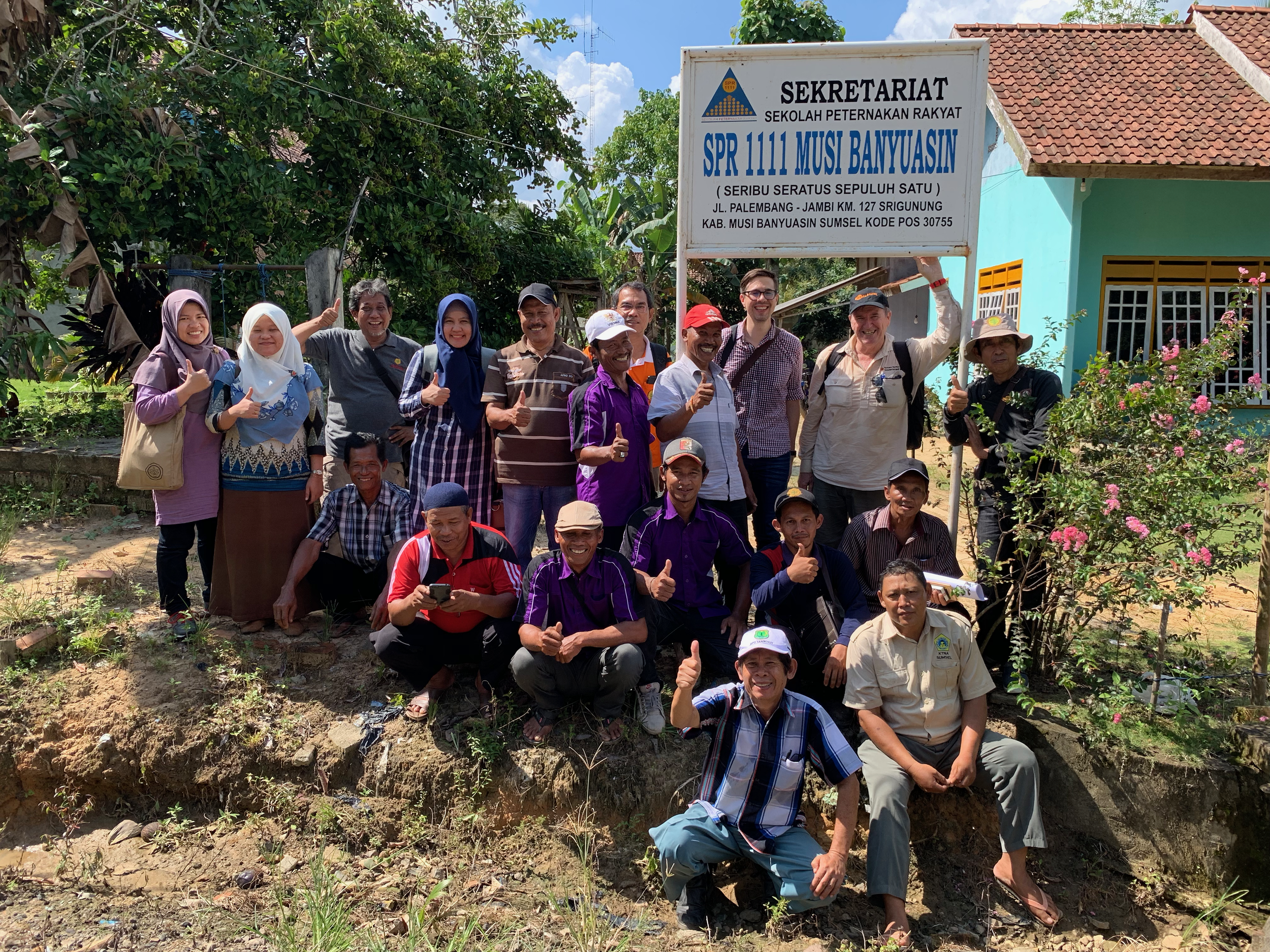 The PalmCow team visited the Musi Banyuasin district in late 2018.