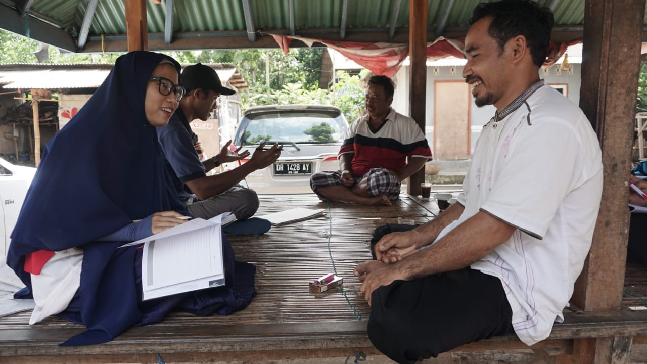 Situation analysis training exercise, march 2019.  Photo: Nurul Hilmiati.