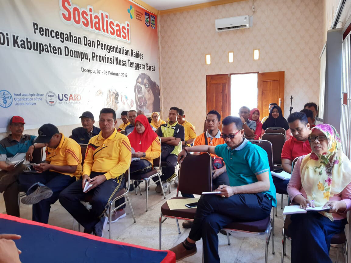 In August 2019, Dinas Livestock hosted a meeting to finalise scaling nodes and sites for Dompu Regency, Sumbawa.