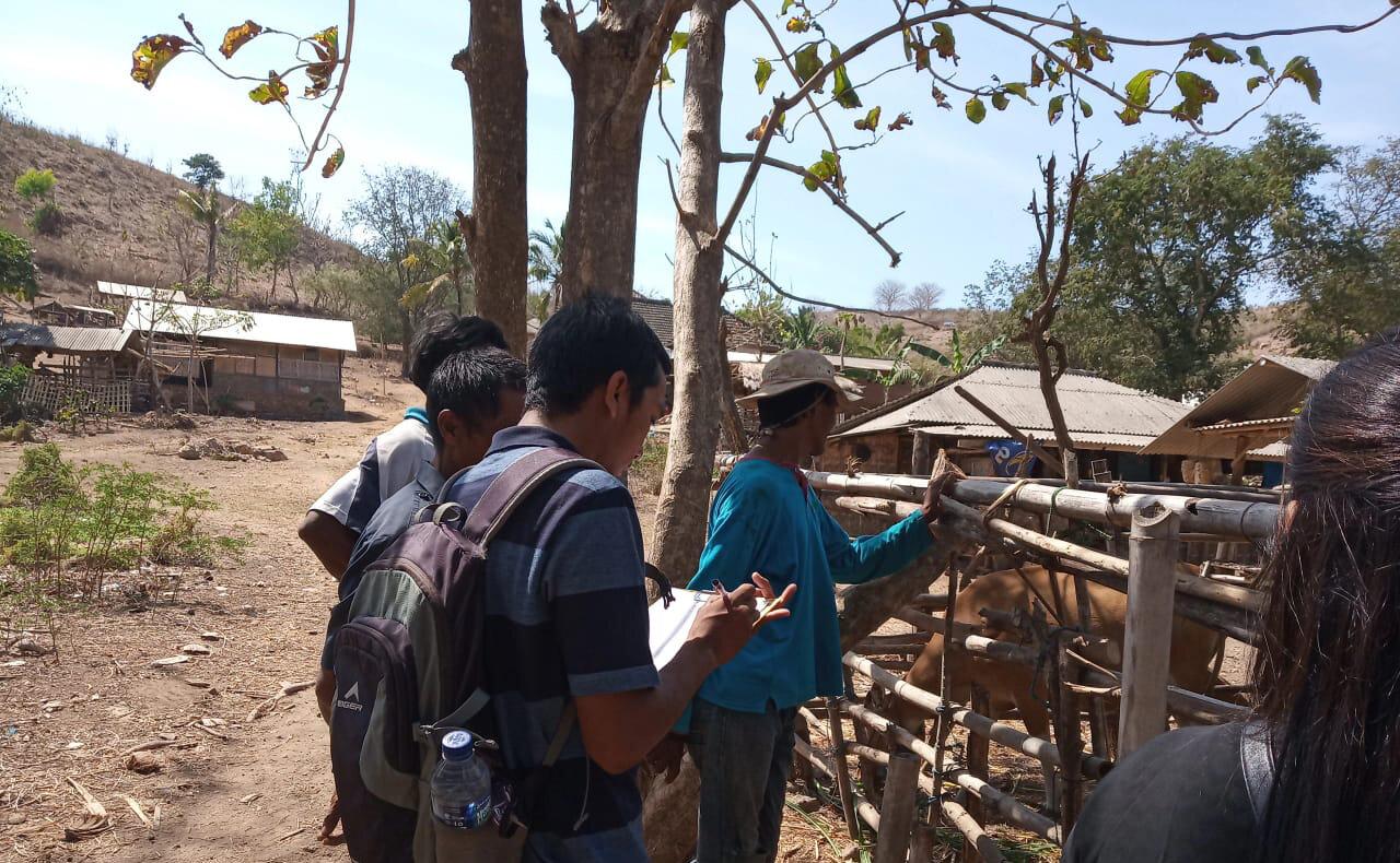 Bumbang Wetan farmer group, Central Lombok.  Photo: Muhammad Sukri