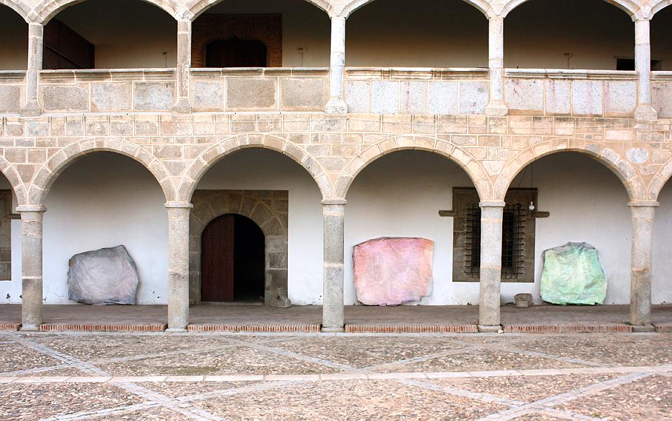 Lights  La Fragua artist residency  Belalcázar, Spain  2013