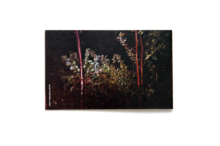 "Wet Night  5"" x 8""  laser print book  2010"