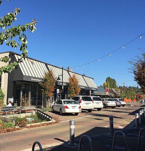 Park Lane in downtown Kirkland