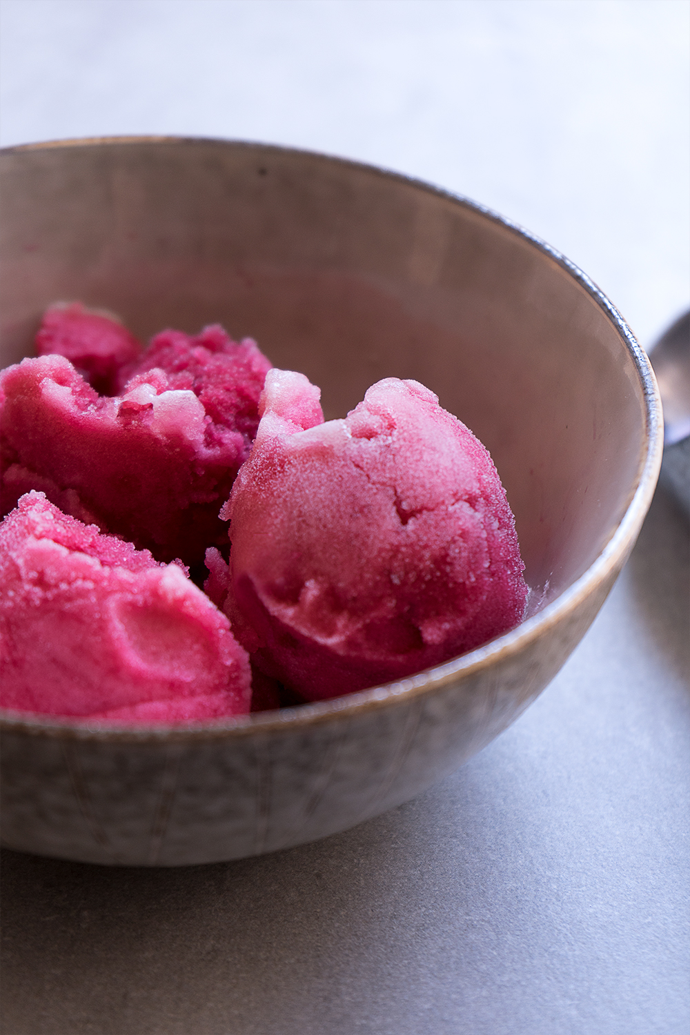 HIBISCUS SORBET - Delightfully refreshing the hibiscus sorbets will give new meaning to your afternoon.