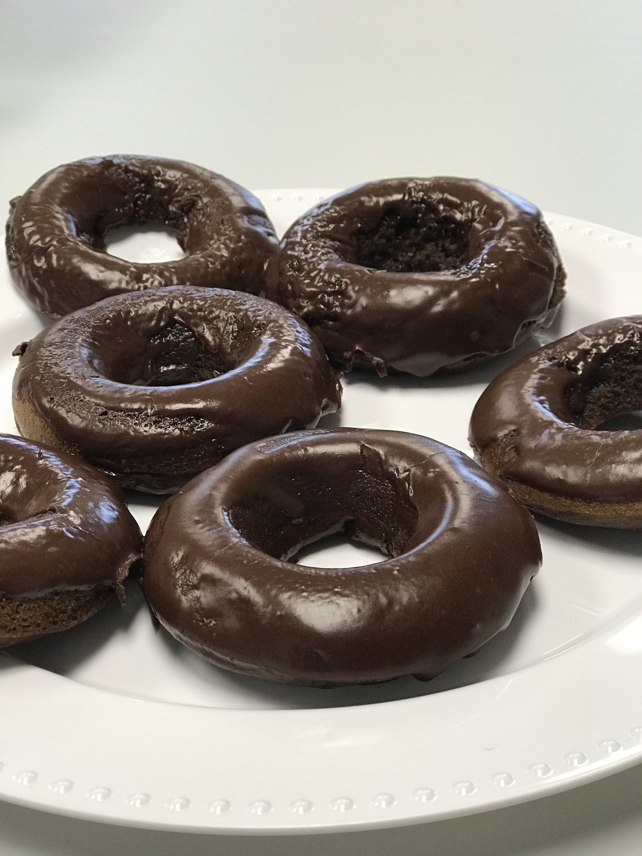 - Gluten free & chocolate version made by using gluten free flour and adding 1/4 cup cocoa