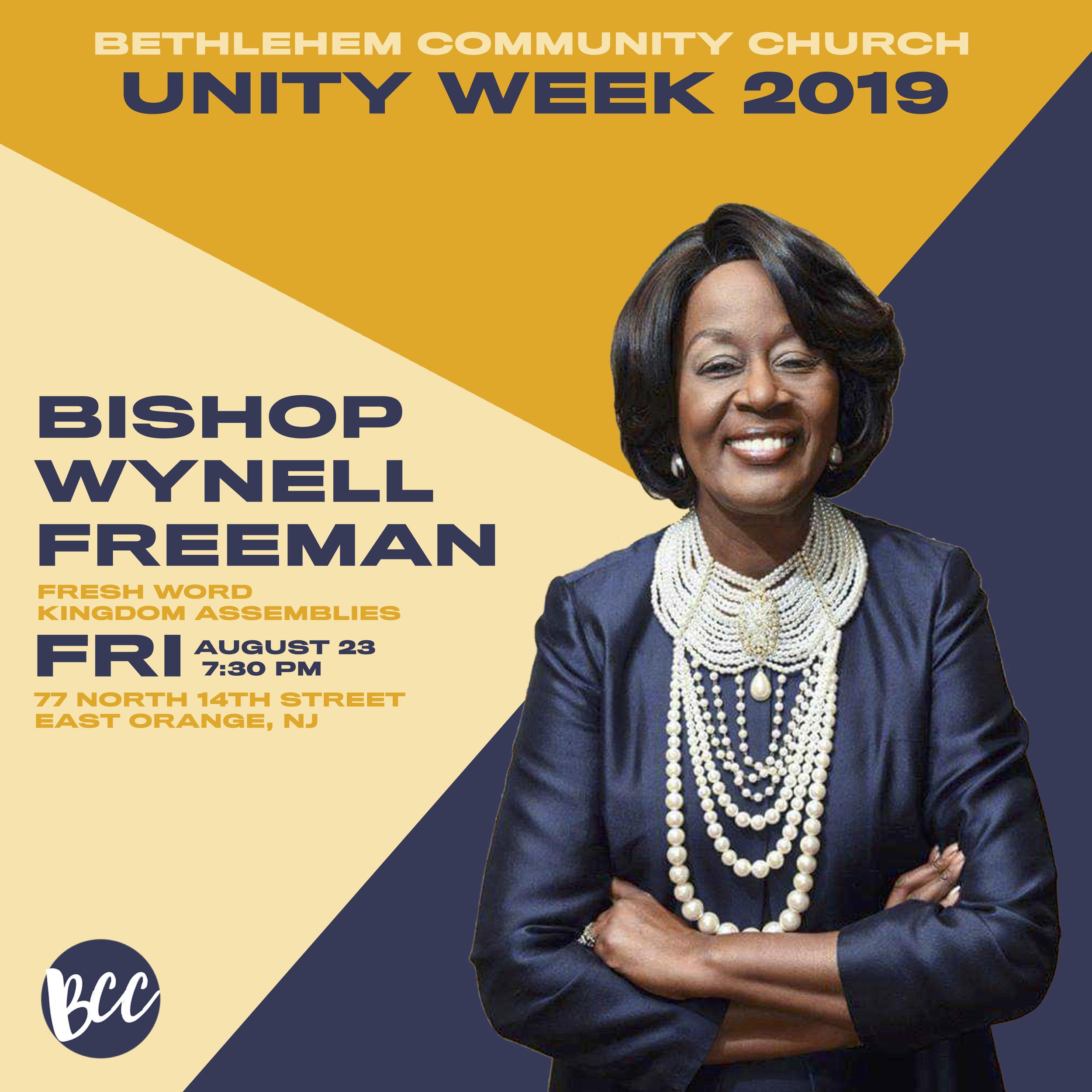 Unity WeekWynell Freeman IG post.jpg
