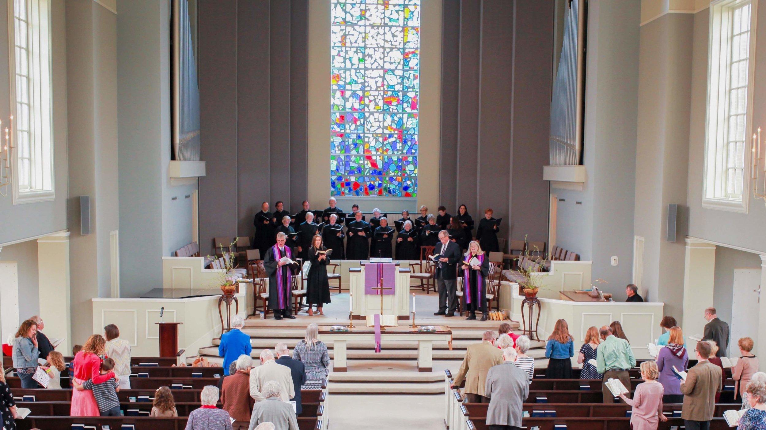 Worship during Lent