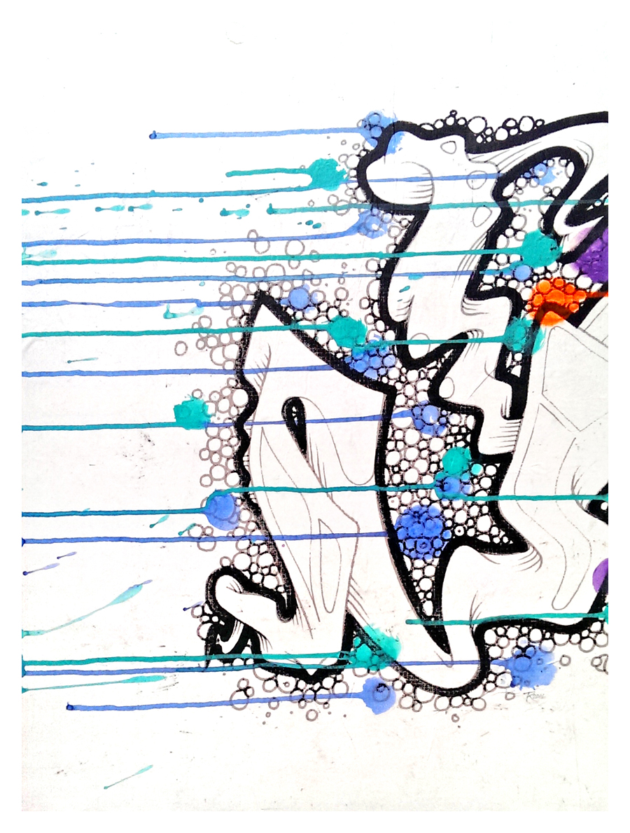 Graffik Snot (Left)