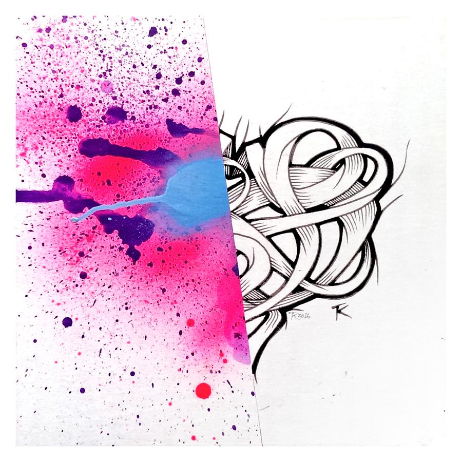 Exploding Heart (Left)