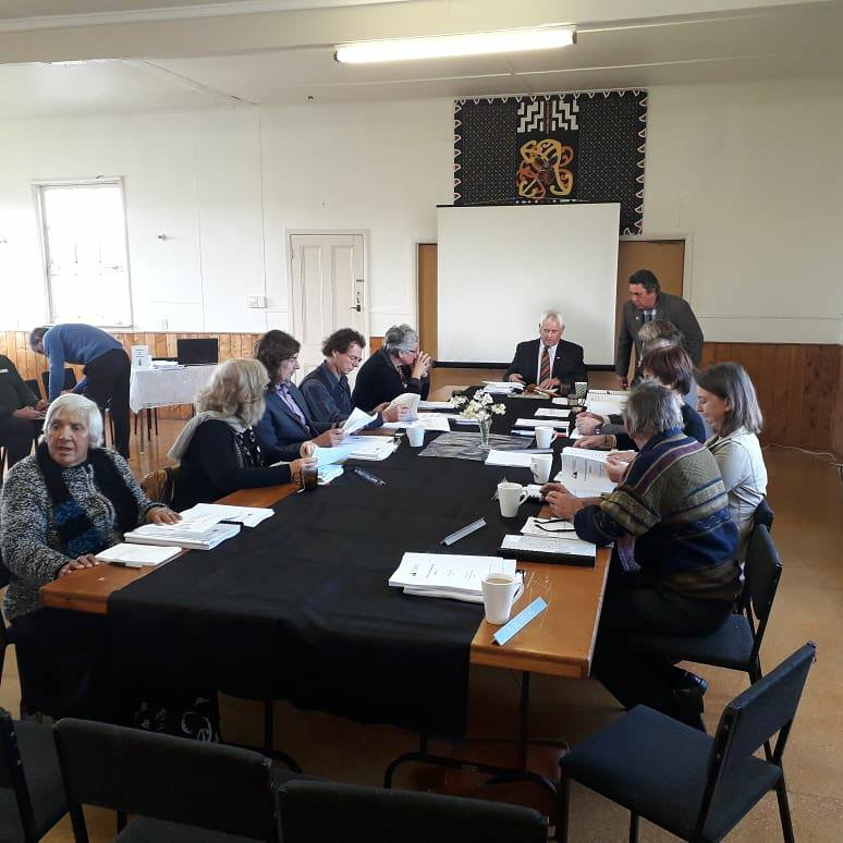 Carterton District Council meeting at the marae, 2018