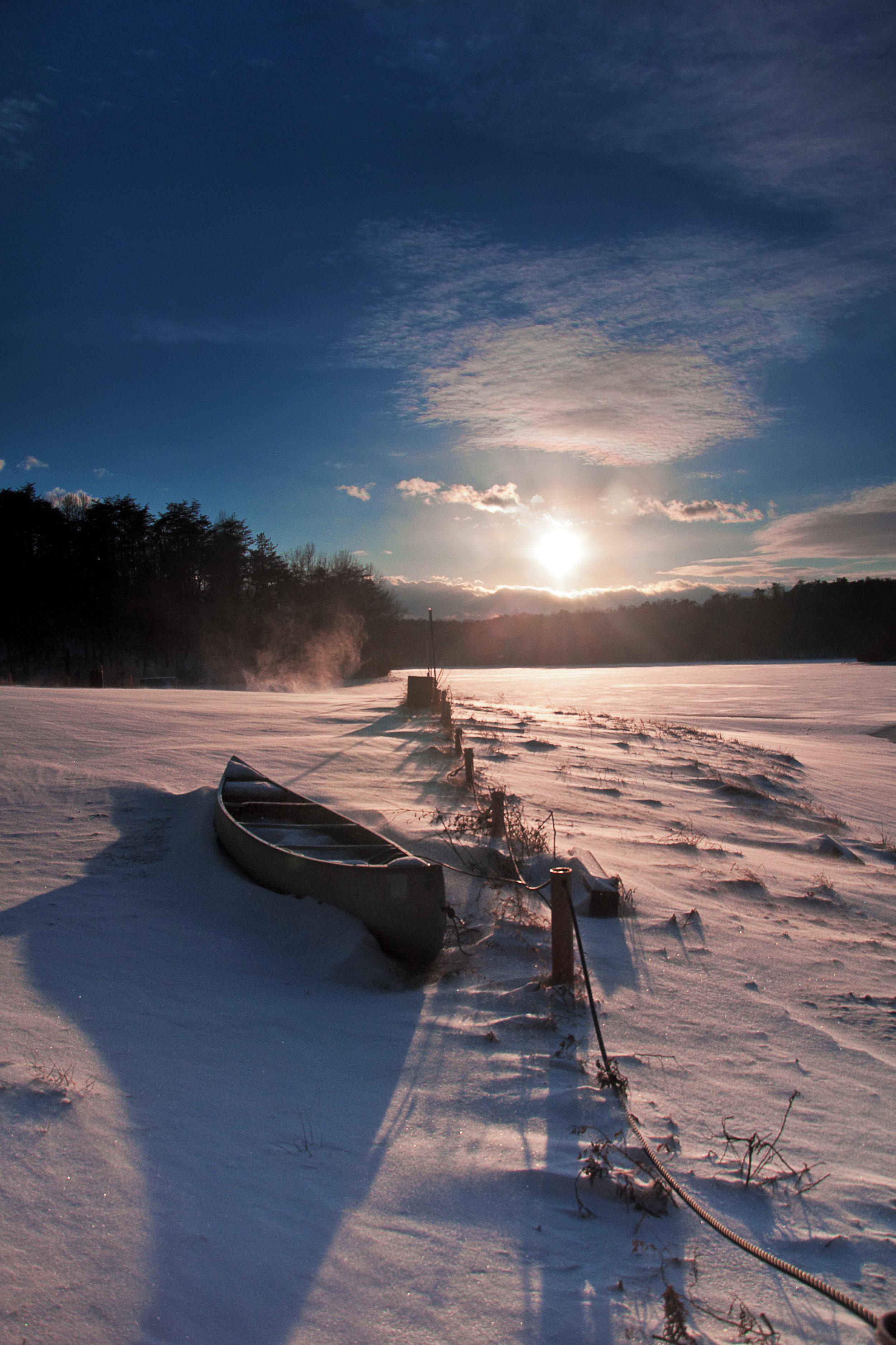Long Shadow Of Winter -