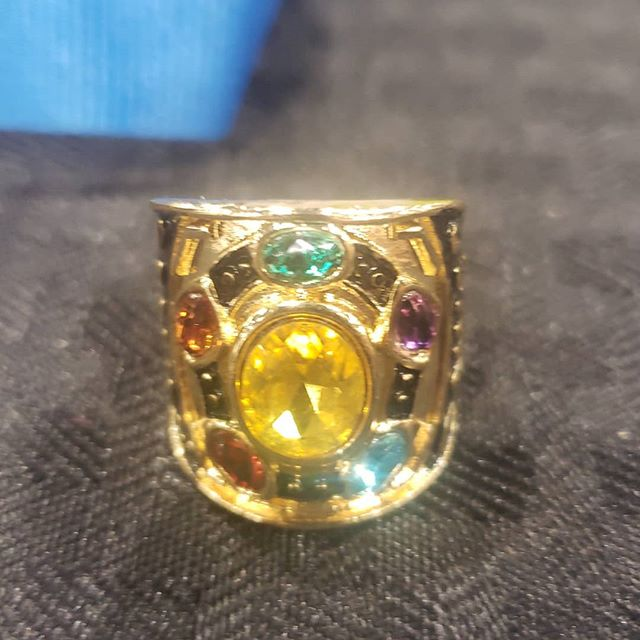 Infinity Stones Rings still available! We are located at the Hero's Hall booth H721 #phoenixfanfusion2019 #phoenixfanfusion #excaliburrings