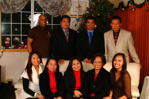 The Ibale Family.  Donna Ibale on the bottom right.