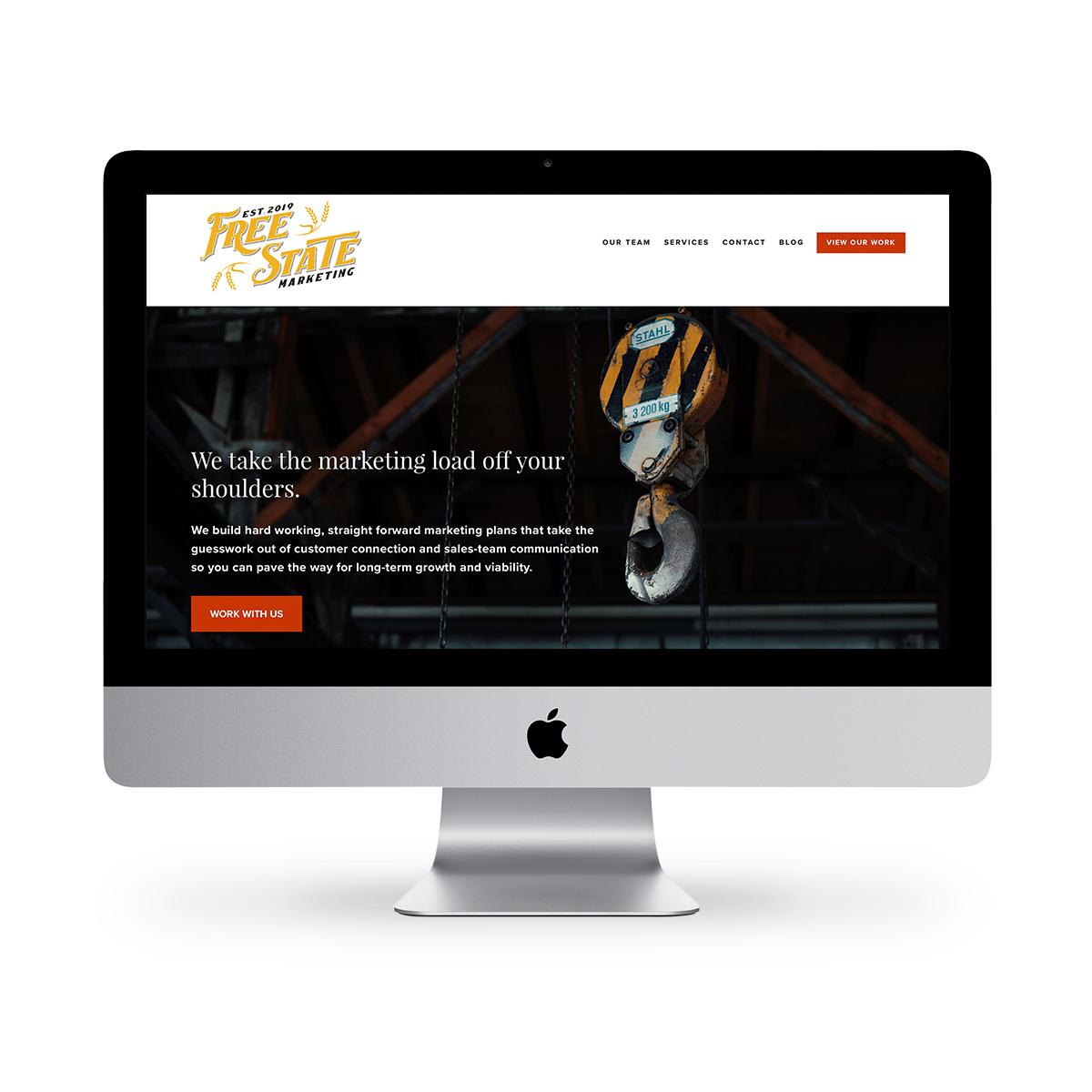 Free State Marketing LLC website