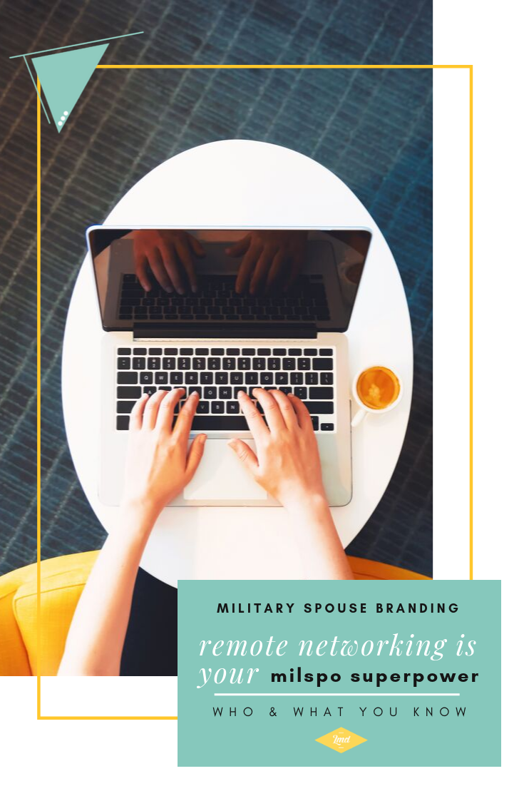 Remote Networking for Military Spouses