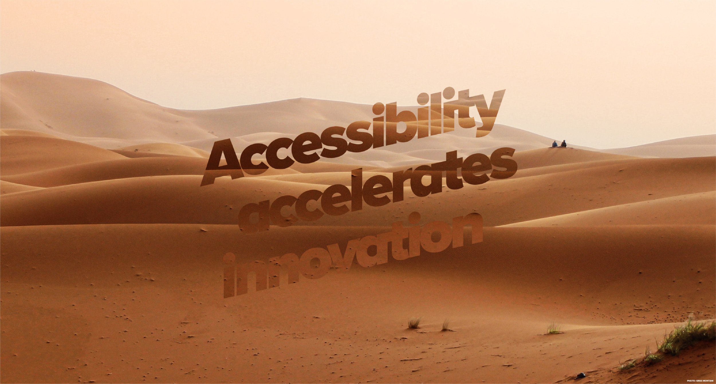 Accessibility accelerates innovation