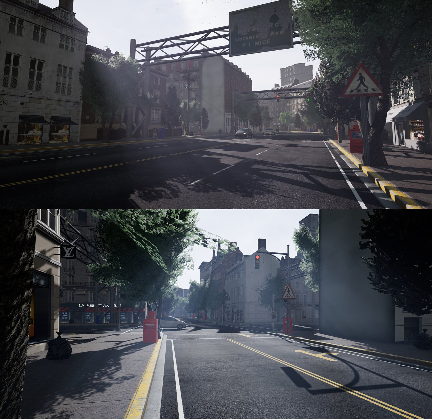 Realistic computer images can be generated in real time from video games, and promising research has been done using the commercial game Grand Theft Auto V, which is built around a large and visually realistic open-world environment, focused on the first-person perspective of cities and city traffic. - The years spent developing the visual realism of the game may give it advantages when used for AI training compared to other solutions.However, commercial games, like GTA V, have drawbacks. Unless you get access to the source code, you are limited in what data and what annotation you can generate.