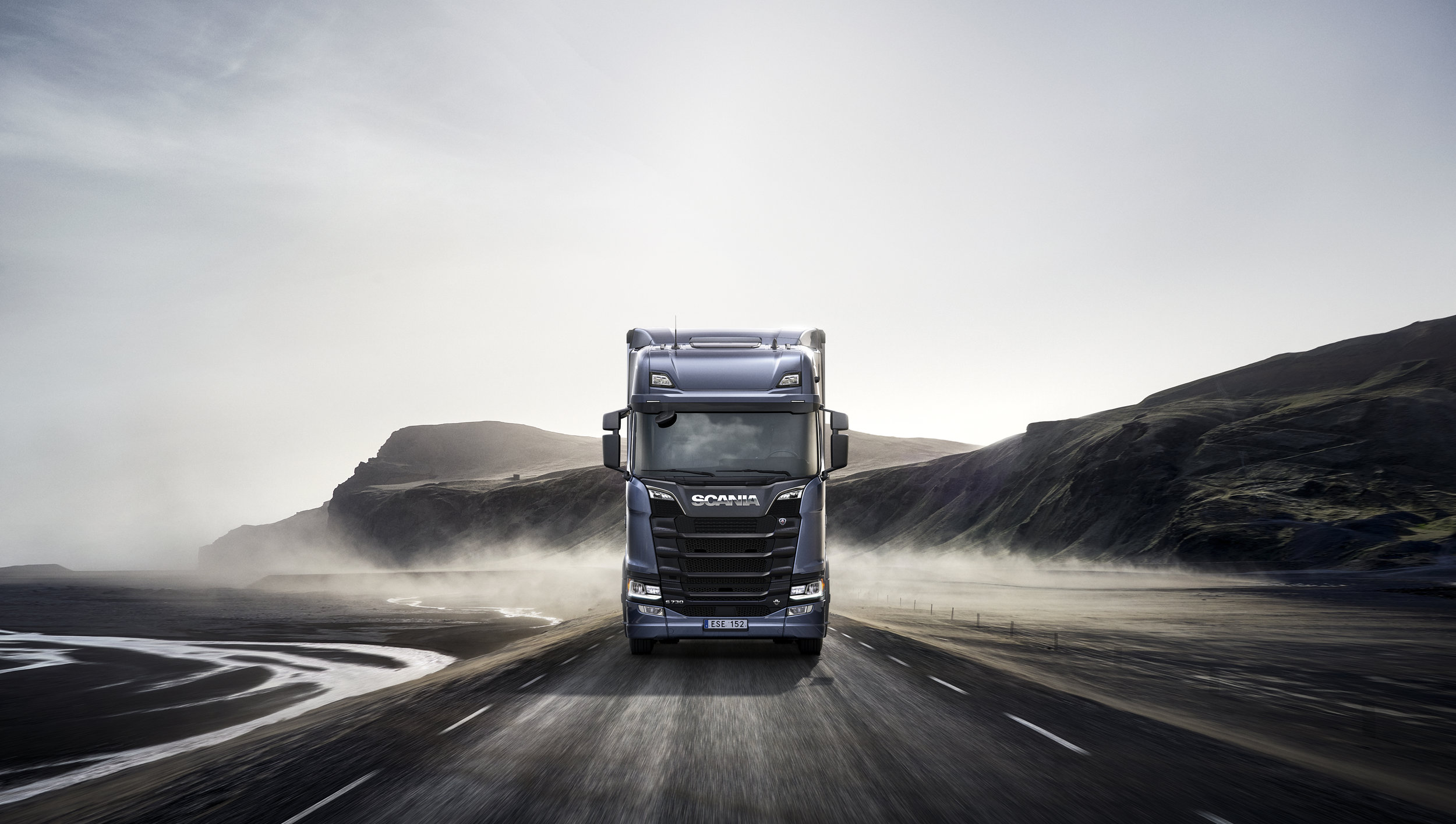 From Design to Marketing - Client: Scania