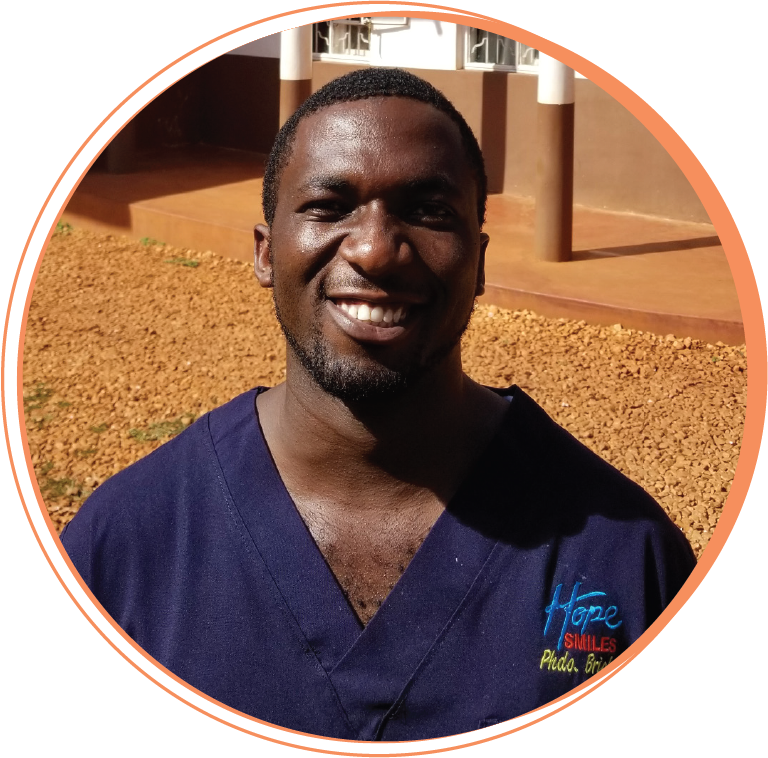 """Bright Isabirye  Public Health Dental Officer   """"Hope Smiles is love. Working at Hope Smiles has taught me to love and serve using the talents God has given me to help bring His Kingdom to Earth as it is in Heaven. Hope Smiles has given me the opportunity to grow physically, spiritually, and financially by developing my talents and using them to love people well."""""""