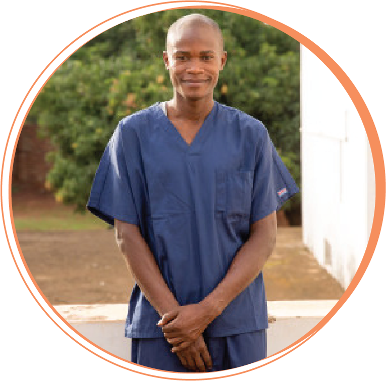 """Charles Kanyike  Public Health Dental Officer Scholarship Student, former Hope Smiles sterilization technician  """"Working with Hope Smiles has changed all aspects of my life: spiritually, economically, socially, academically, mentally, and emotionally. I now have confidence. The team has great love and teamwork. Above all, we learn from God's word each morning, giving us wisdom to love God and others well each day. This makes Hope Smiles a place of restoring hope, encouraging and empowering community, and treating dental conditions to a high standard for a better future for everyone touched by Hope Smiles."""""""