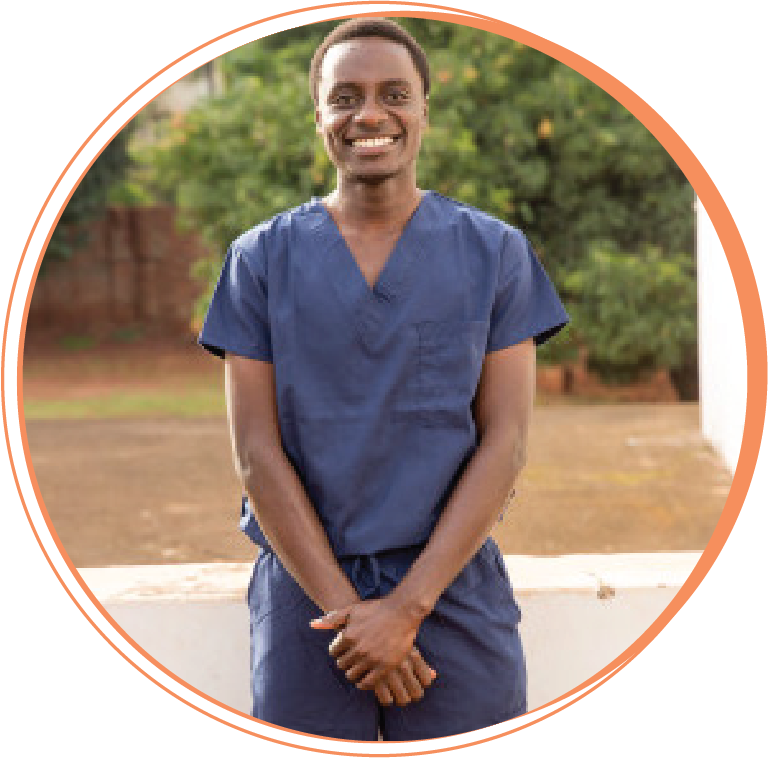 """Grace Lule Ainembabazi  Public Health Dental Officer   """"Working with Hope Smiles gives me a chance to share the love of God with His people. God loved me, He found me, He saved me, and I know that. And my being at Hope Smiles has opened my eyes to my purpose in this world: to love and serve as Christ did."""""""