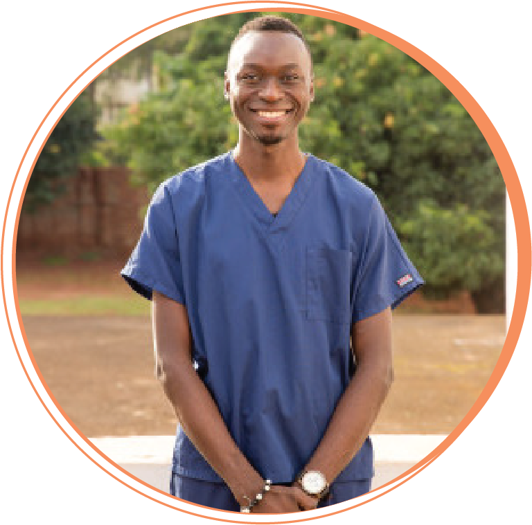 """Harold Robins Ntulume  Dental Assistant   """"I am motivated by the need of many people out there eager to receive treatment, oral hygiene, and productive motivations talks leading to whole-life transformation. I am looking forward to continuing to continuing to work with Hope Smiles, driven by the love of God, until I see a genuine transformed nation of Uganda. I am guided by Phillipians 2.13: 'It is God who works in you to will and to act in order to fulfill his good purpose.' At Hope Smiles, I know I am working for God's good purpose."""""""