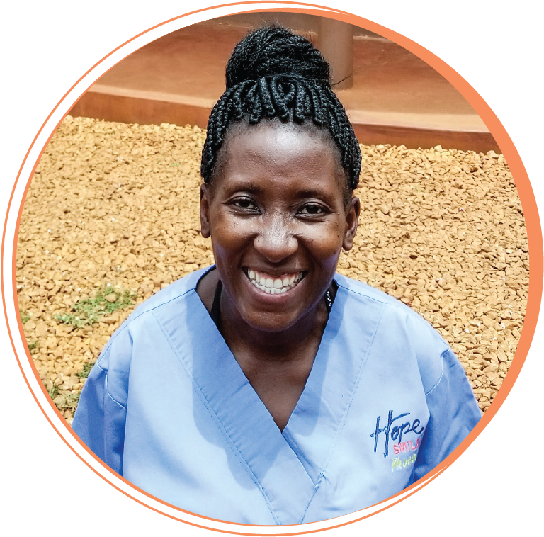 """Phoebe Mondo  Dental Assistant  """"Working with Hope Smiles has taught me what it means to love and to be loved. It has enabled me to meet my financial needs by developing skills that transform lives through quality, compassionate dental dare. I have learned not to quit or step down when things are hard, that good things can happen when I keep going, and through the learning process my work has become fun."""""""