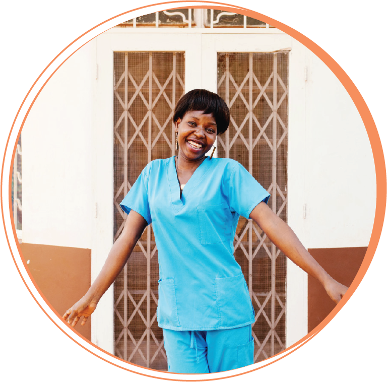 """Winnie Abago  Public Health Dental Officer Scholarship Student, former Hope Smiles dental assistant  """"Hope Smiles has given me hope I can still cling to my dreams and achieve them. I know we are needed in transforming lives in Uganda through quality, compassionate dental care. I love working with Hope Smiles because we put God first. Our daily devotionals each morning give the best environment to work in. We are no longer workmates but rather family -- we have that care, love and community I have never found elsewhere in life."""""""