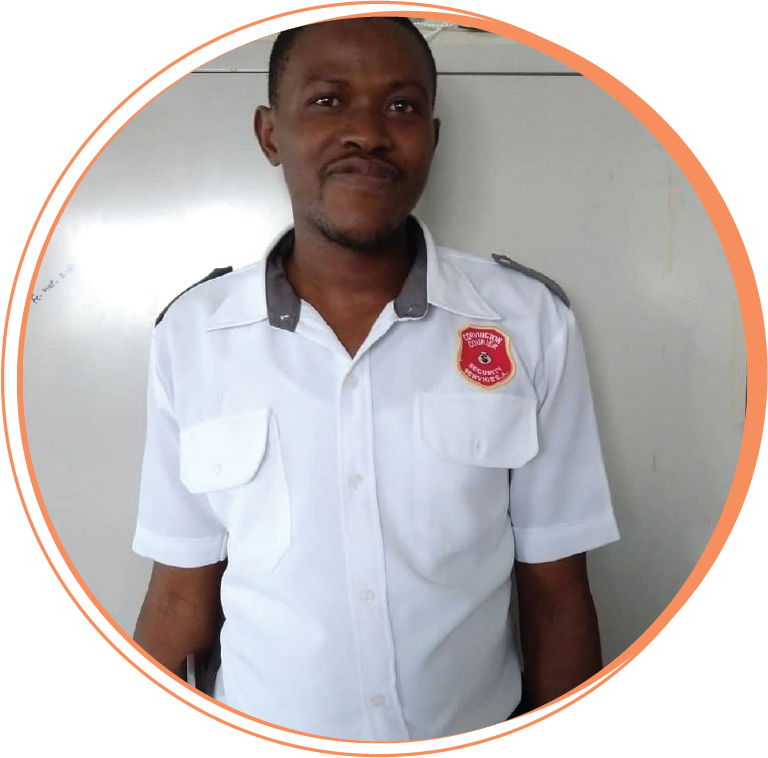 Gaston Dupuy  Clinic Security Guard