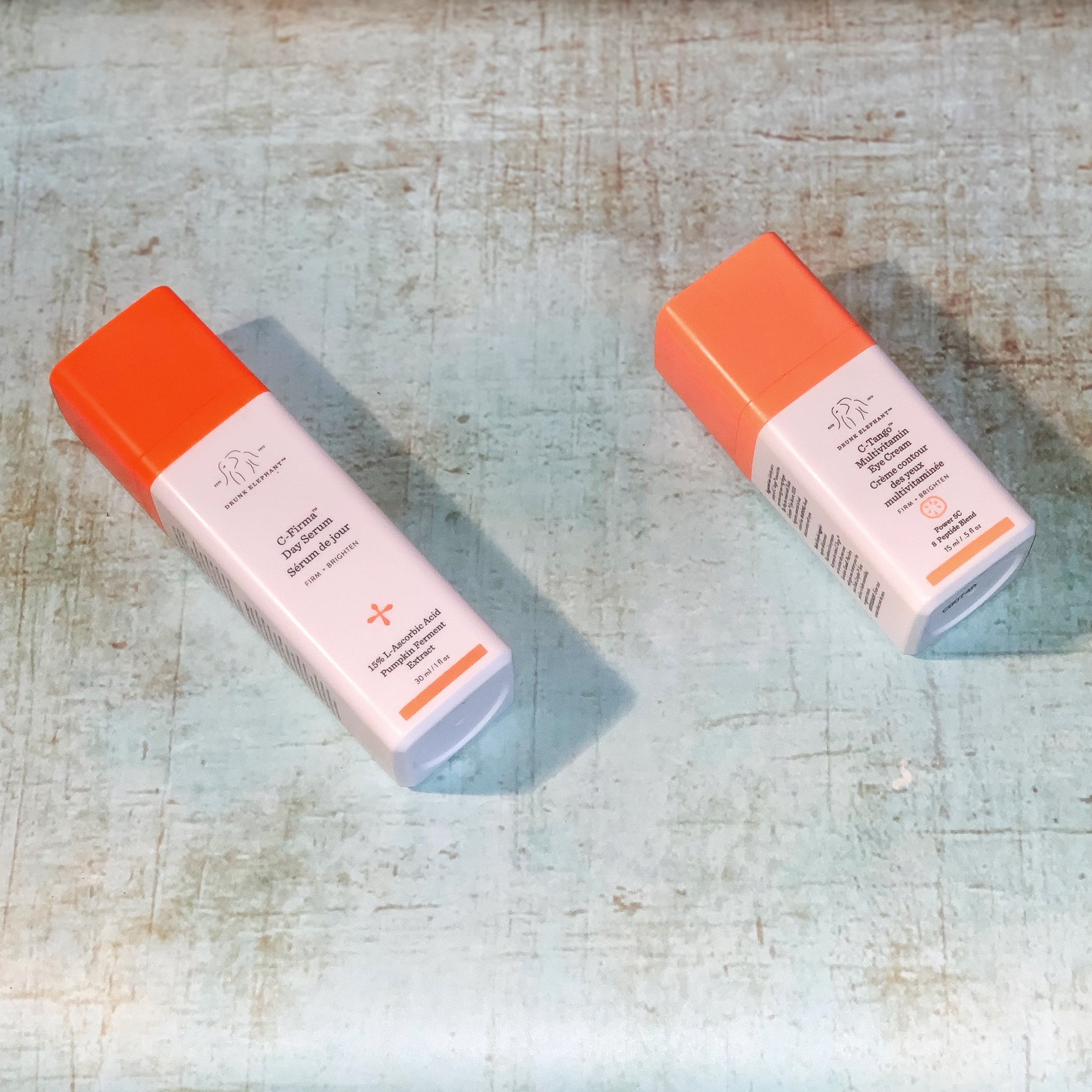 Drunk Elephant C-Firma Day Serum & C-Tango Vitamin C