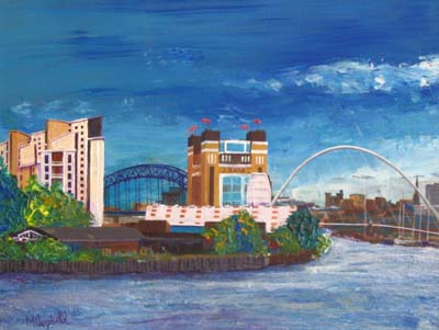 Tyne Bridges & Tall Ships