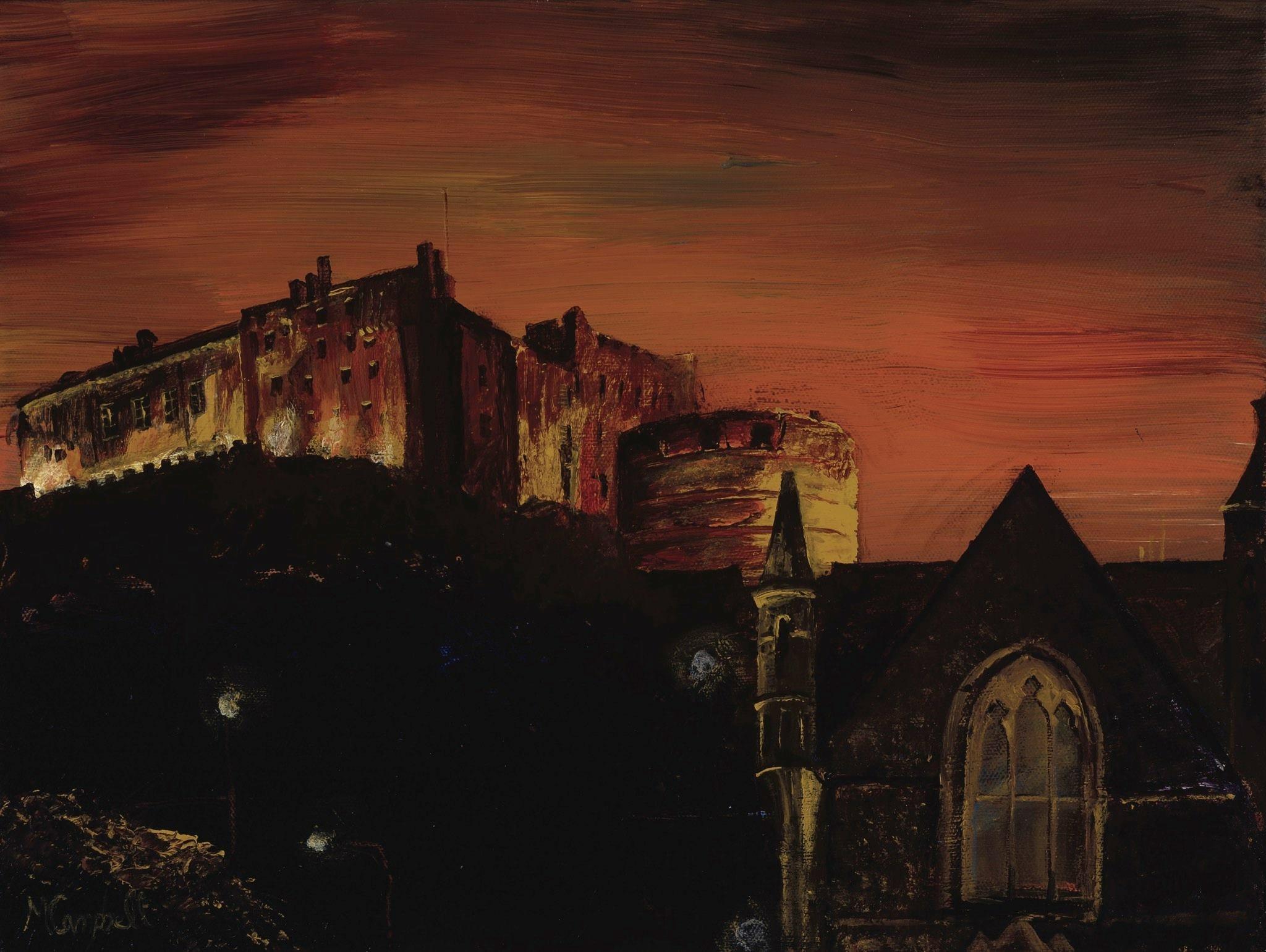 Castle from Grassmarket