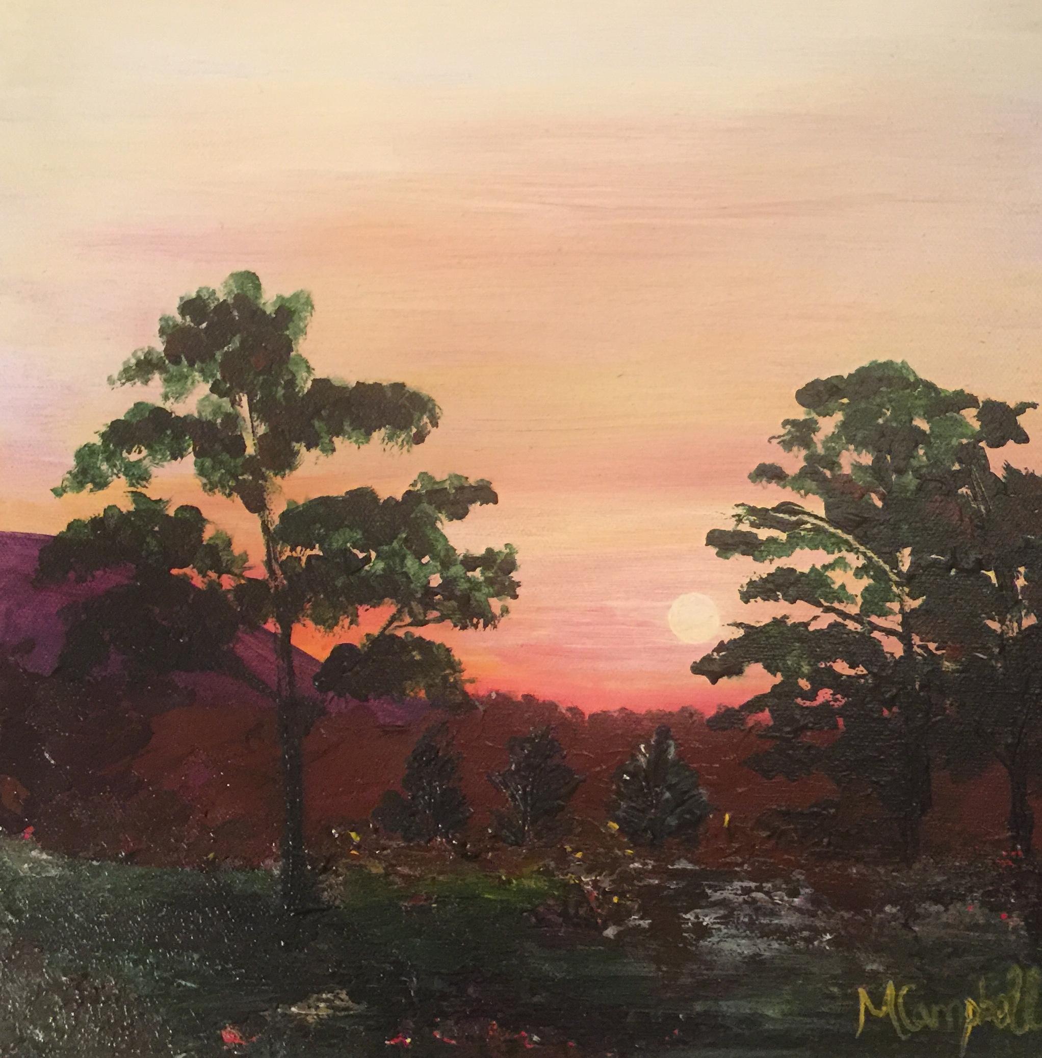 Sunrise over Rothiemurchus