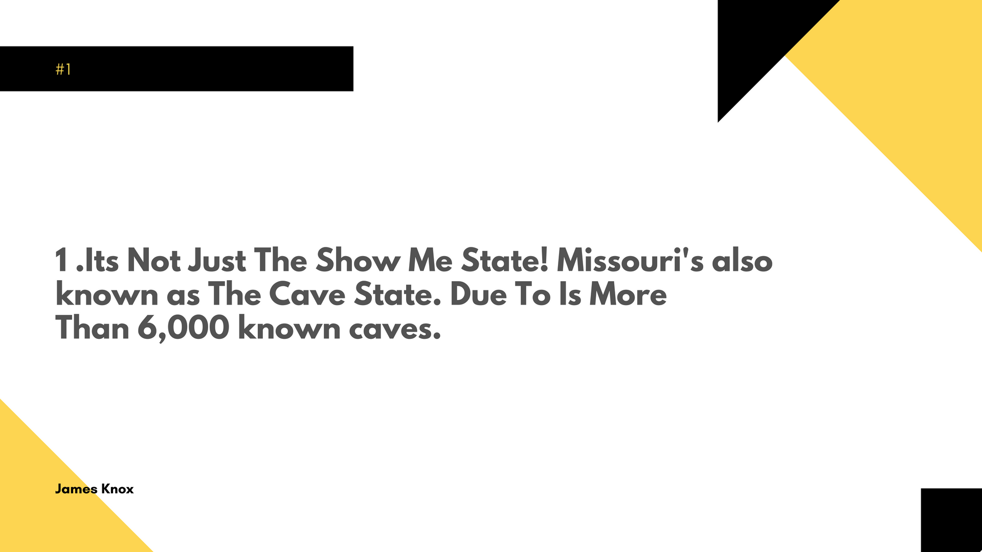Top 7 Facts About Missouri