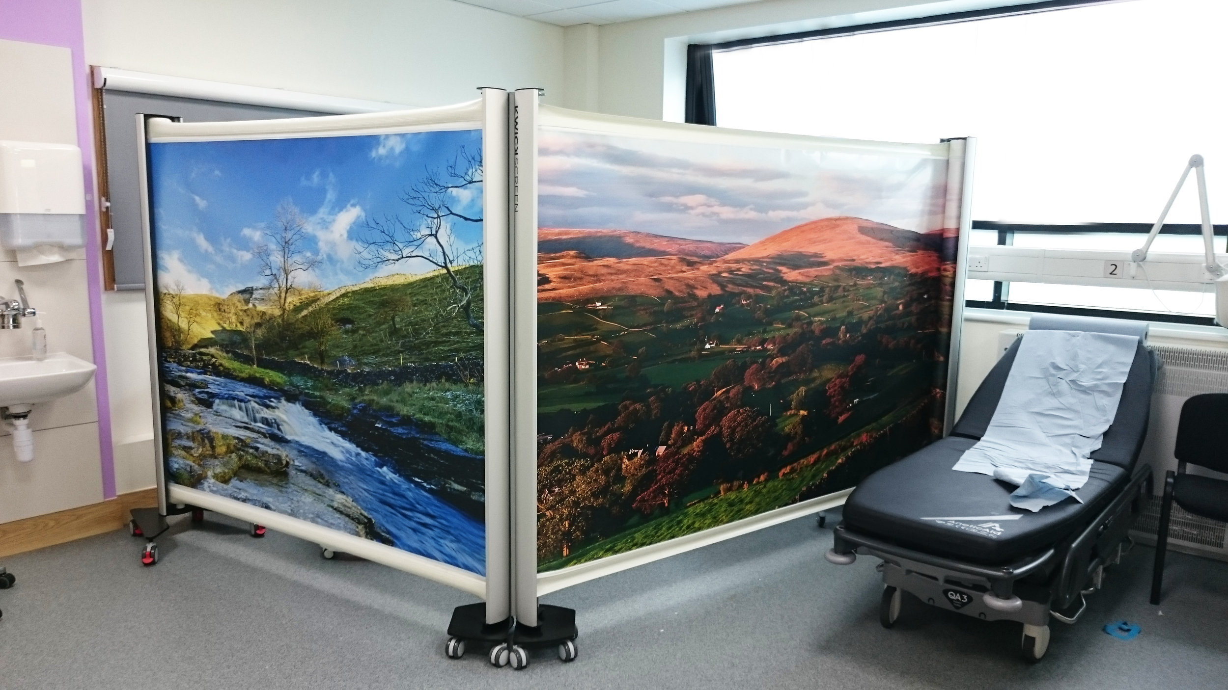 KwickScreen installed at Bradford Royal Infirmary