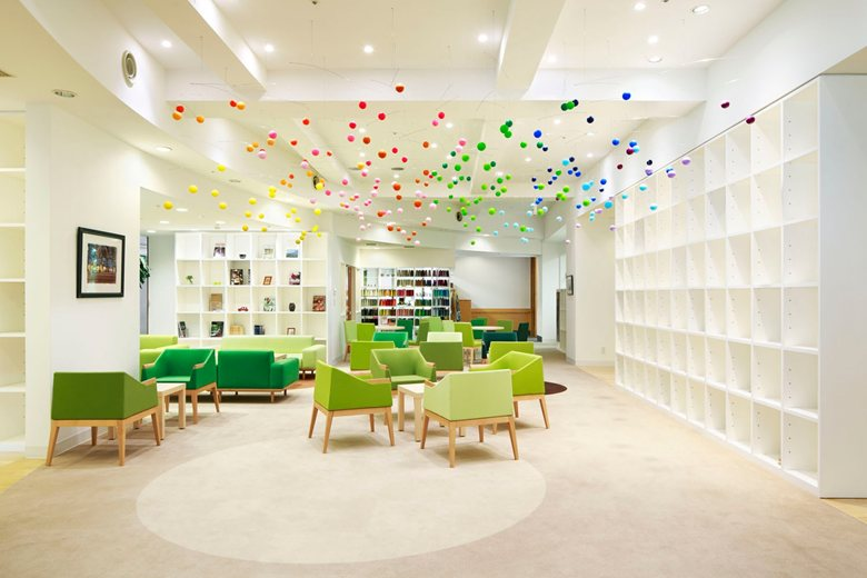 Emmanuelle Moureaux renovation in Shinjuen Nursing Home, Kawagoe-City.