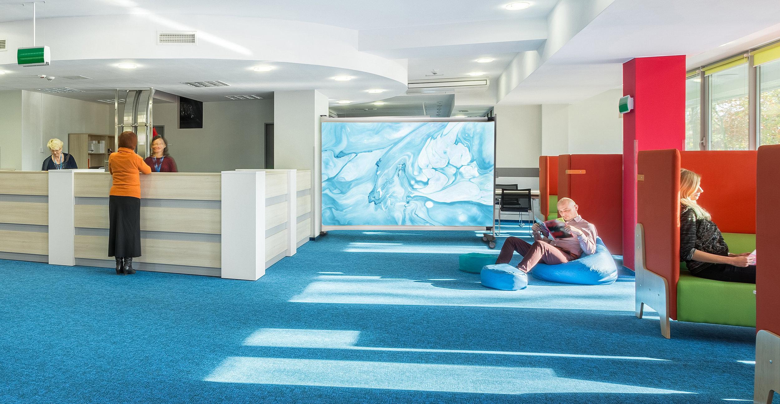 KwickScreen Air insitu in University