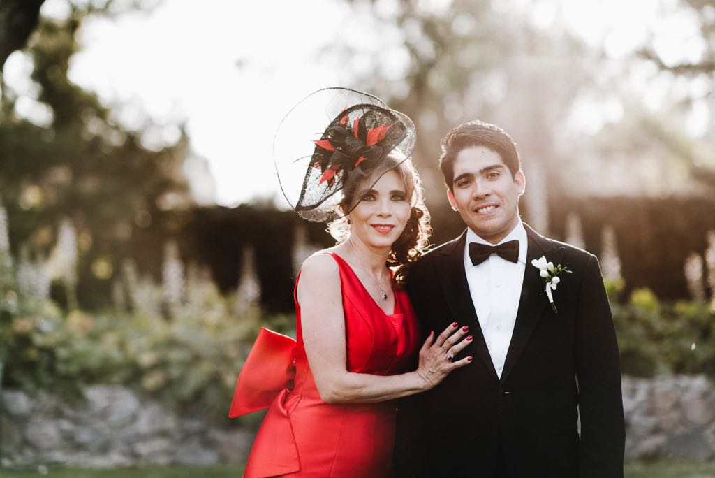 "Marcia Gomez   ""Thank you Ana Maria , we are all so happy! Your hats and fascinators were sensational, we received so many compliments from the beginning to the end of the wedding. I felt absolutely amazing and I loved my hat!"""