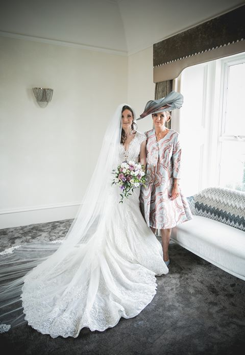 "Annette Cunningham   ""Thanks so much for making my beautiful hat. I felt fantastic in it and it complimented my outfit perfectly. I had a great day as Mother of the bride. Thank you again for all your help and excellent advice, x"""
