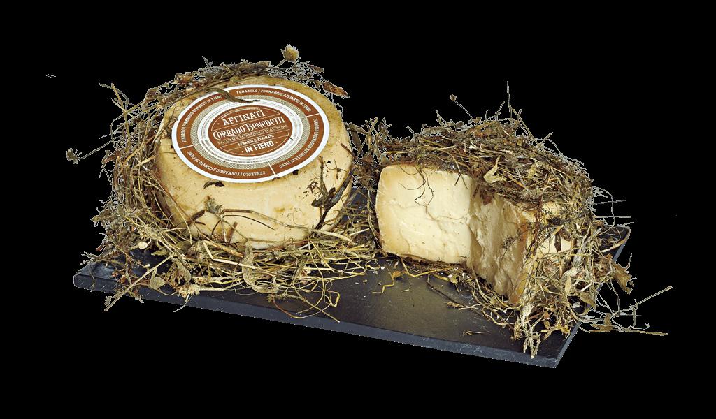 Fenarolo affinato in fieno - Kravský sýr vyzrálý v seně