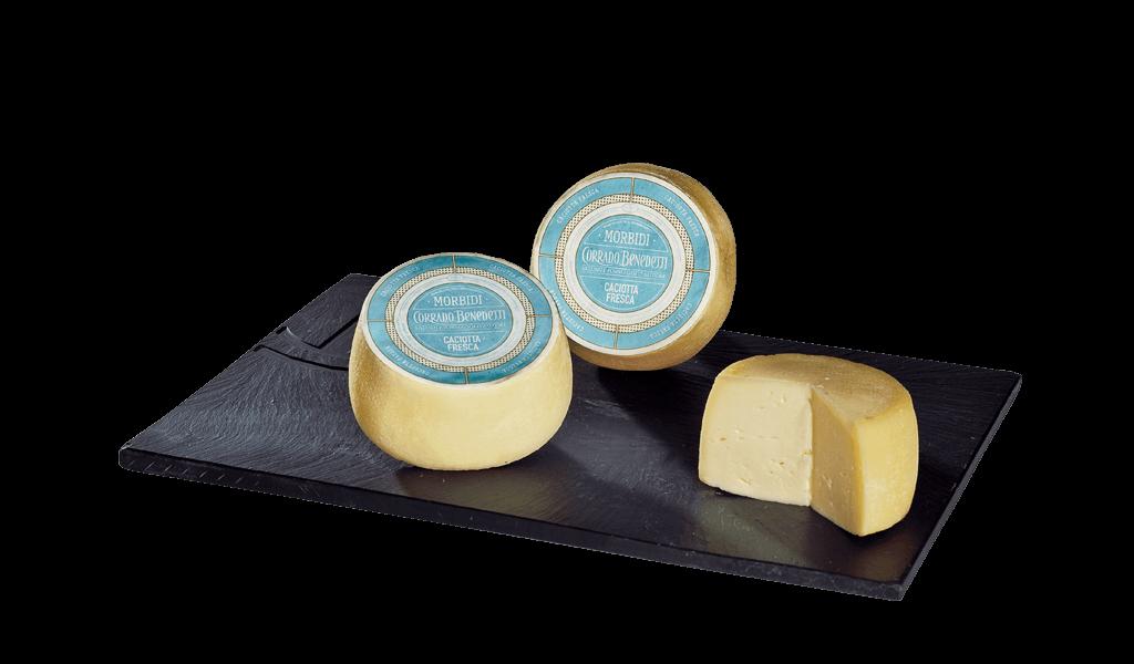 Caciotta fresca della Lessinia - Čerstvý kravský sýr