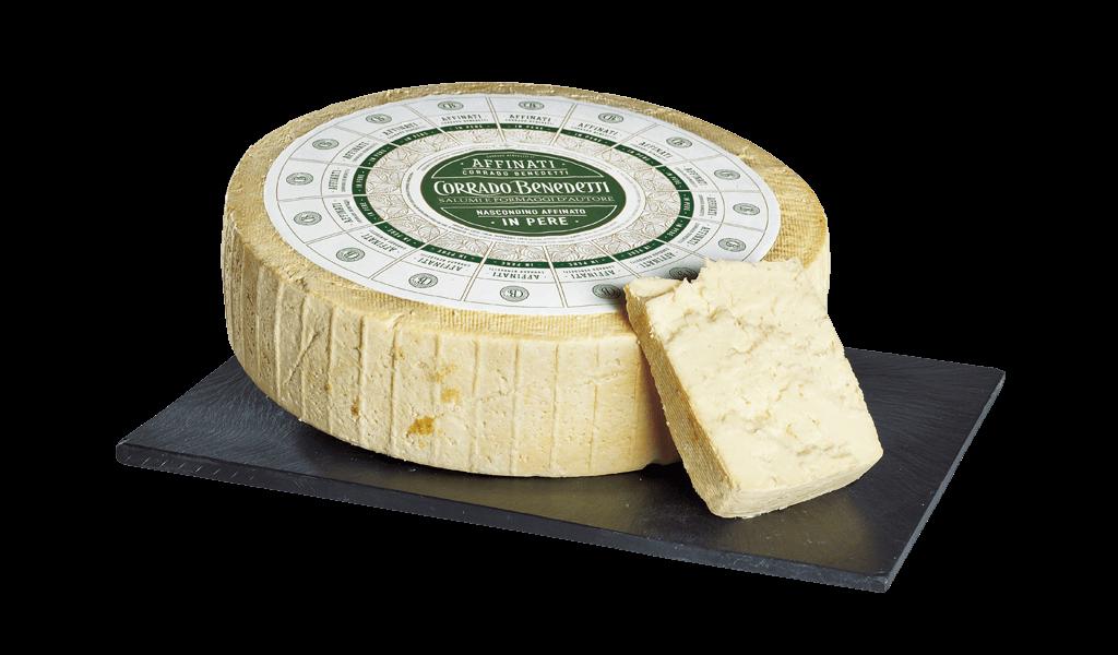 Nascondino affinato i pere - Kravský sýr vyzrálýna hruškách
