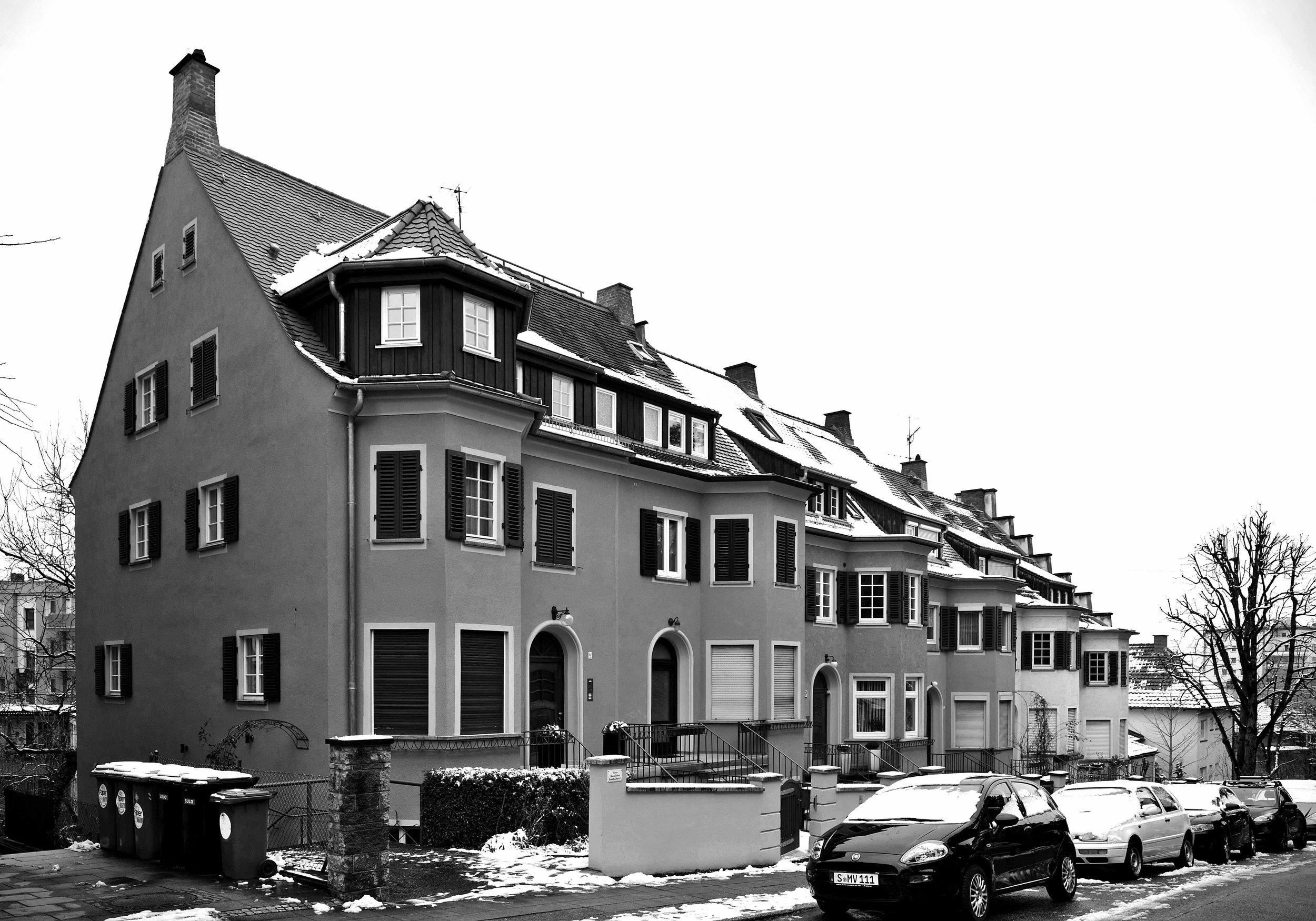 Wohnen im Reihenhaus in der Mitte von Stuttgart -
