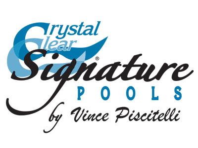 Crystal Clear Signature Pools . Award Winning custom built pools and pool service to the following counties: Bucks, Montgomery, Delaware, Chester, Philadelphia, Berks, Mercer, Hunterdon, Burlington