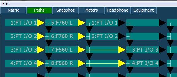 Signal Path Screen