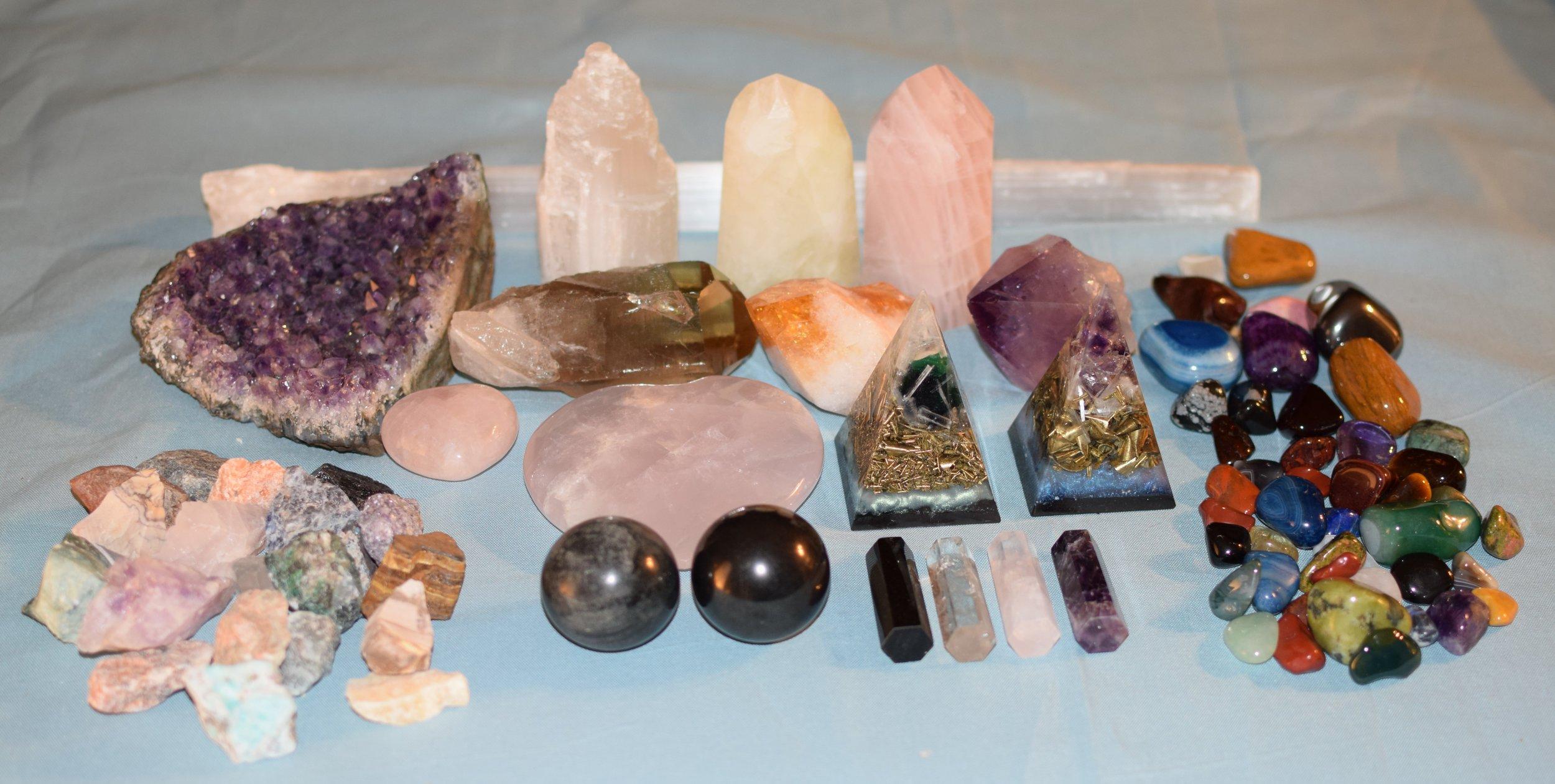 crystal healing -