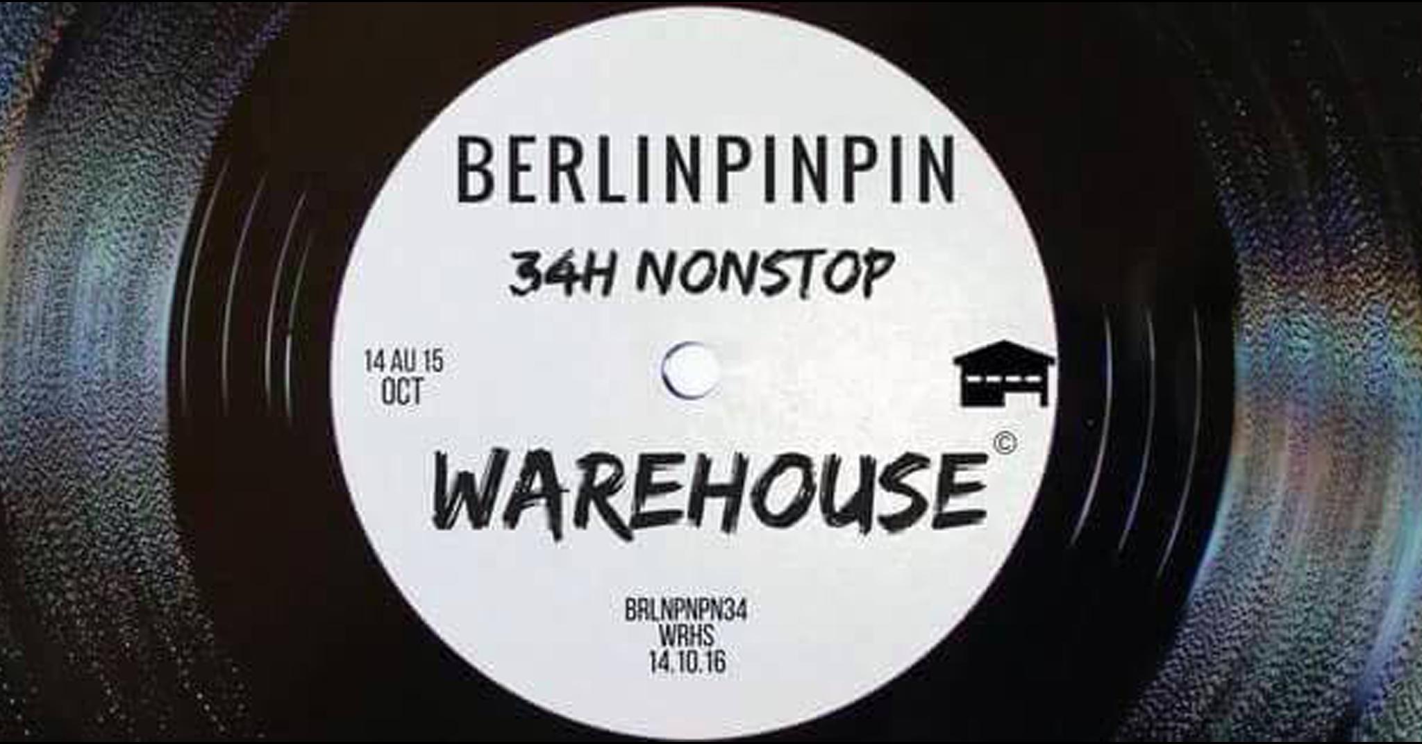 Berlinpinpin 34h en Quarantaine [SOLD OUT]