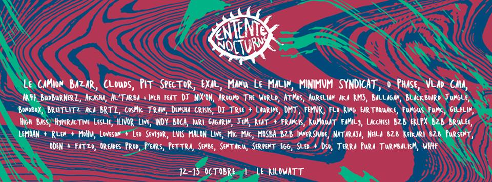 Entente Nocturne Festival 2018 - Scène techno