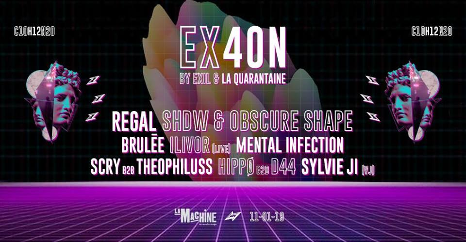 EX40N #1 : Antidote Mécanique [SOLD OUT]